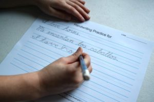 If The Schools Won't Teach Your Kid Cursive Writing, Will You?homeschooling and public