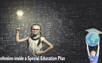 Profession inside a Special Education Plan