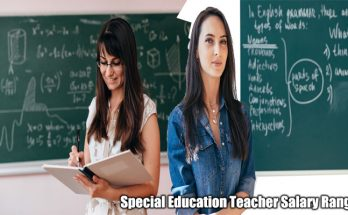 Special Education Teacher Salary Range